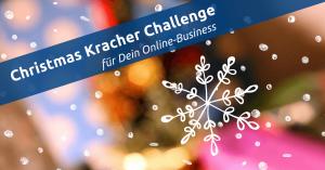 Christmas Challenge für Dein Online Business