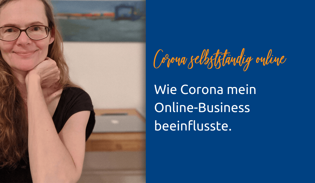 Eva Peters als Selbstständige im Online-Business