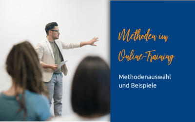 Methodeneinsatz im Online-Training
