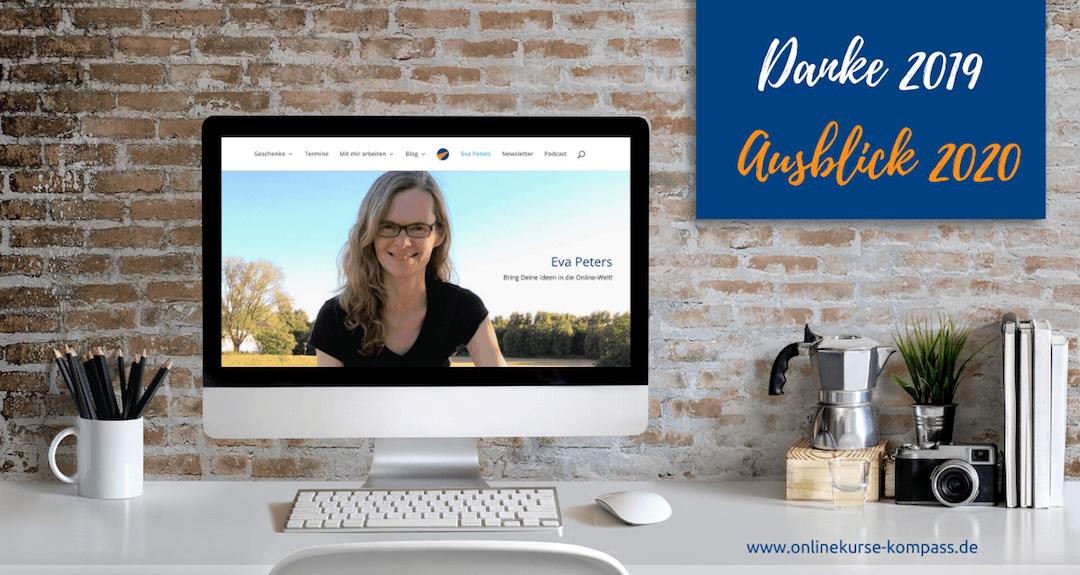 Danke 2019 und Vorfreude auf das Online-Business 2020