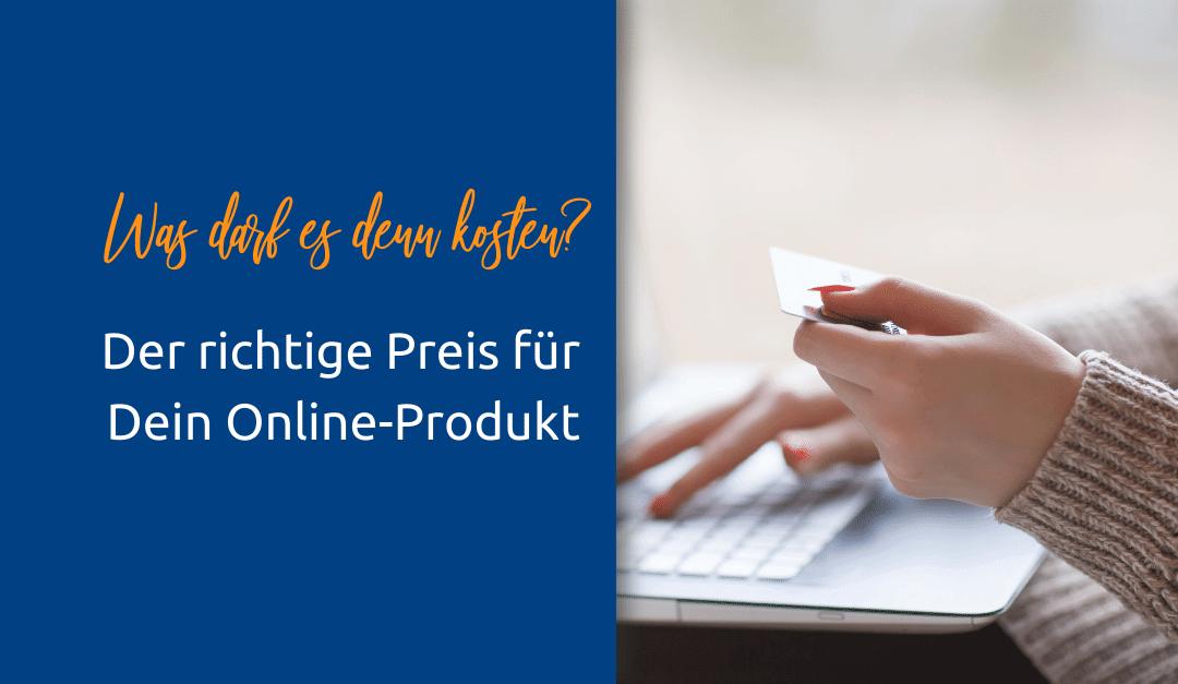 Preisfindung für Online-Produkte
