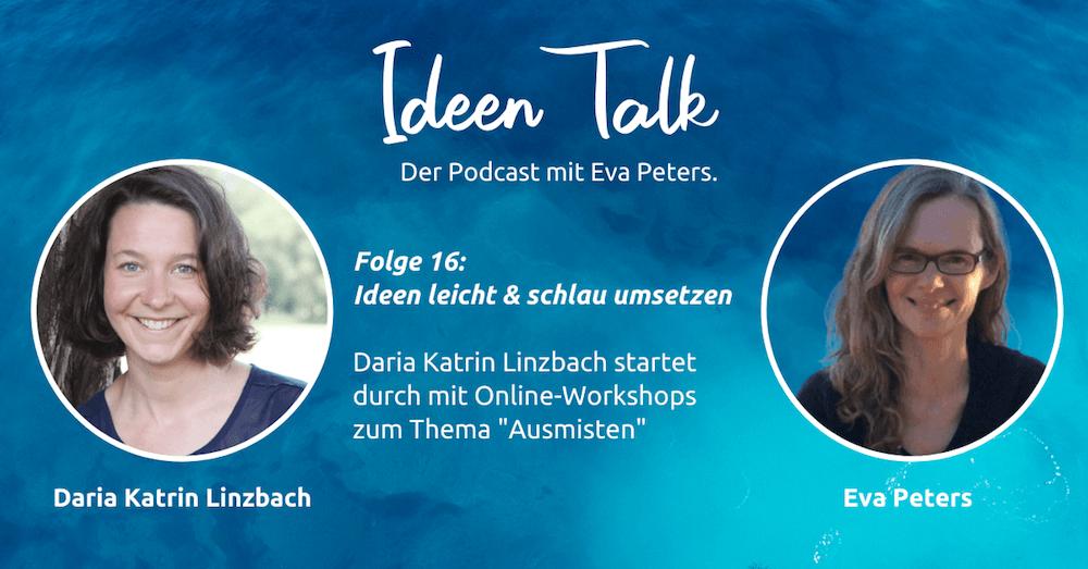 Solopreneurin Daria Katrin Linzbach verbindet ihre Stärken in einem Online-Workshop
