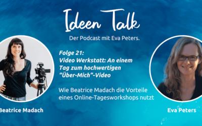 Virtuelle Video Werkstatt: an einem Tag  zum Über-Mich-Video