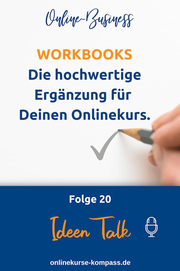 Workbooks als Ergänzung für Onlinekurse