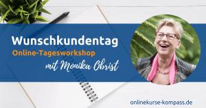 Onlineworkshop zur Erstellung des Wunschkundenprofils