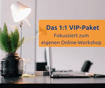 Fokussiert zum eigenen Online-Workshop