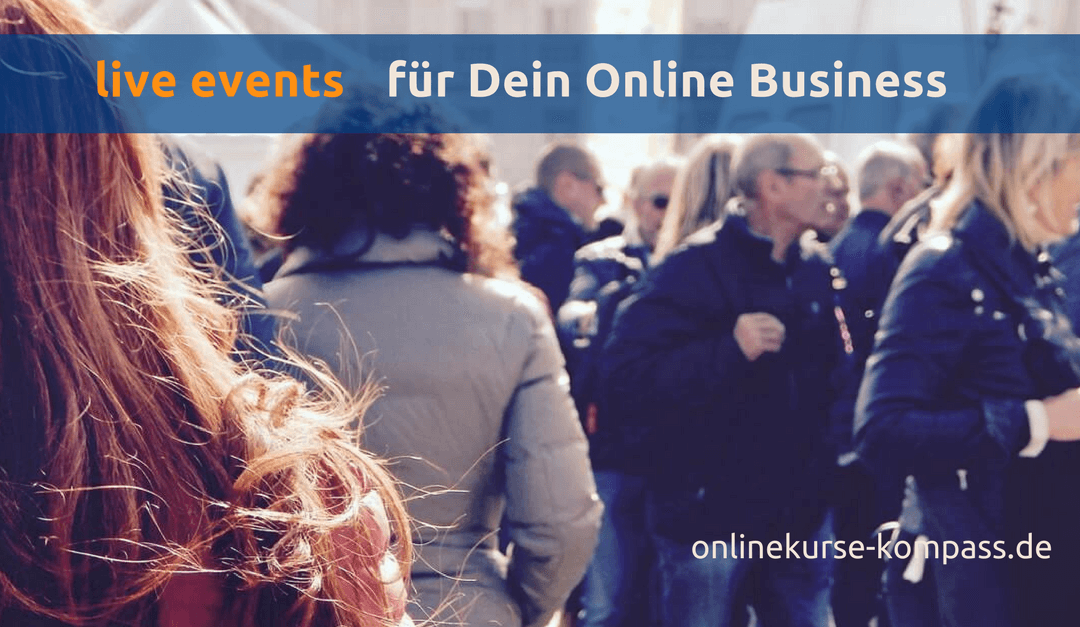 live Events für Dein Online Business