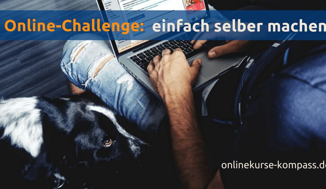 Einfach selber machen: Online Challenges