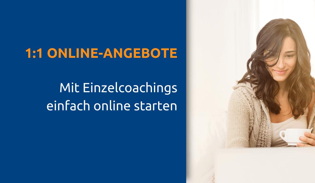 Online-Coachings erstellen und anbieten